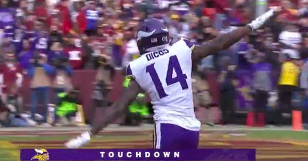 Stefon Diggs Accused of 9 11 Celebration Pro Sports Extra