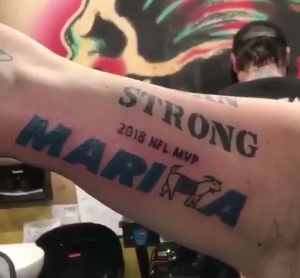 Image result for marcus marigoata tattoo
